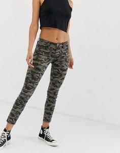 Камуфляжные джинсы Blank NYC - Зеленый