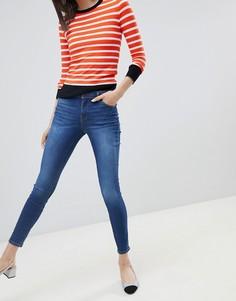 Синие зауженные джинсы Espirit - Синий Esprit