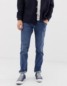 Светло-синие прямые джинсы Esprit - Синий
