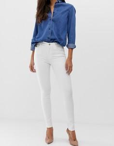 Облегающие джинсы с завышенной талией J Brand Maria - Белый