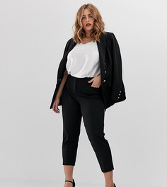 Черные зауженные брюки Simply Be - Черный