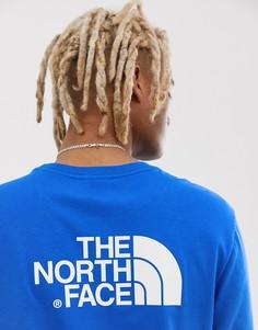 Синий лонгслив The North Face Easy - Синий