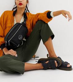 Черная сумка-кошелек на пояс с логотипом Dr Martens - Черный