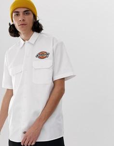 Белая рубашка с нашивкой Dickies Clintondale - Белый
