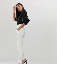 Зауженные брюки с молниями на щиколотке Parallel Lines - Белый