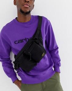 Черная сумка-кошелек на пояс в стиле милитари Carhartt WIP - Черный