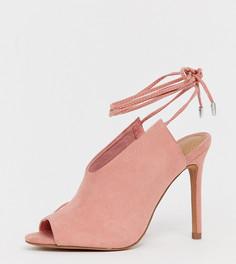 Туфли на высоком каблуке для широкой стопы ASOS DESIGN Wireless - Розовый