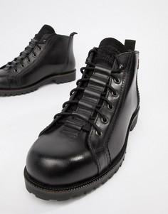 Черные кожаные ботинки Levis lexington - Черный Levis®