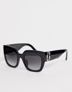 Солнцезащитные очки в массивной квадратной оправе Marc Jacobs - Черный