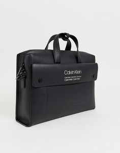 Черная сумка для ноутбука Calvin Klein - Черный
