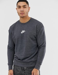 Черный свитшот Nike Heritage - Черный
