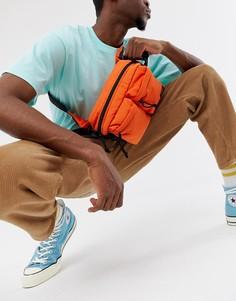 Оранжевая сумка-кошелек на пояс в стиле милитари Carhartt WIP - Оранжевый