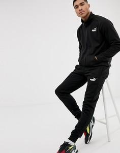 Черный спортивный костюм Puma - Черный