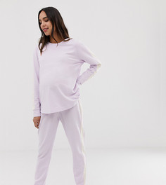 Свитшот и джоггеры для дома ASOS DESIGN Maternity - Фиолетовый