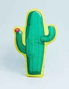 Подушка для дома и улицы в виде кактуса Sunnylife - Зеленый