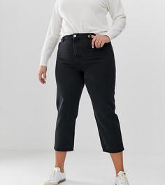 Черные прямые джинсы ASOS DESIGN Curve - Черный