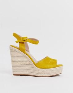 Желтые босоножки на каблуке и платформе ALDO Ybelani - Желтый