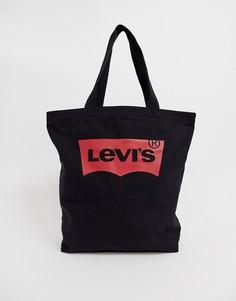 Черная сумка-тоут Levis Batwing - Черный Levis®