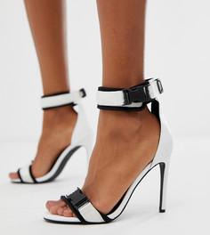 Босоножки на каблуке Blink - Белый