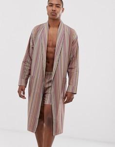 Легкий халат в полоску Paul Smith - Мульти