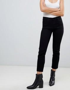 Укороченные джинсы прямого кроя J Brand - Черный