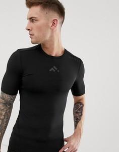 Базовая футболка с короткими рукавами FIRST - Черный