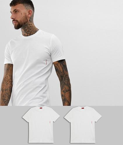 2 белые футболки HUGO - Белый