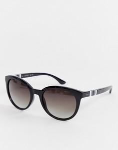 Круглые черные солнцезащитные очки Esprit - Черный