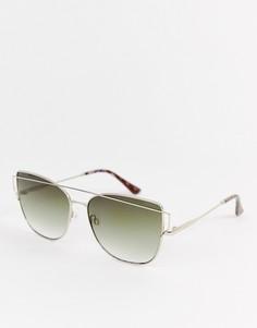 Солнцезащитные очки кошачий глаз Esprit - Золотой