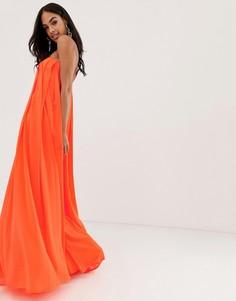 Платье-бандо макси ASOS DESIGN - Розовый