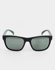 Черные поляризационные солнцезащитные очки в квадратной оправе Esprit - Черный