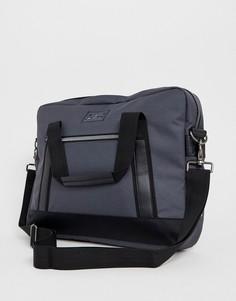 Серая сумка с отделением для ноутбука Ben Sherman - Серый