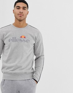 Серый свитшот с большим логотипом ellesse sport Leeti - Серый