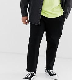Укороченные брюки со шнурком Only & Sons - Черный