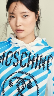 Moschino Moschino Scribble Logo Hoodie