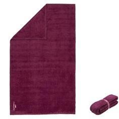 Полотенце Из Мягкой Микрофибры Хl Фиолетовое Nabaiji