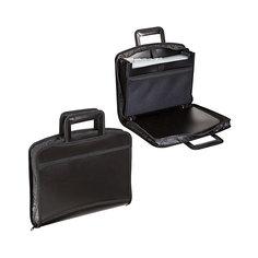 Портфель-папка Brauberg А4, чёрная