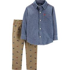 Комплект: рубашка и брюки carter's для мальчика Carters