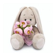 Мягкая игрушка Budi Basa Зайка Ми с букетом роз, 23 см
