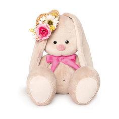 Мягкая игрушка Budi Basa Зайка Ми в соломенной шляпке, 23 см