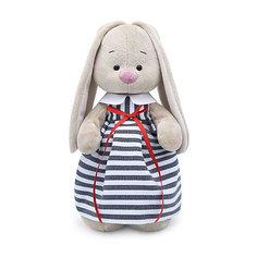 Мягкая игрушка Budi Basa Зайка Ми в платье в полоску, 32 см