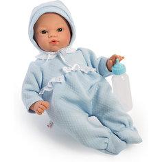 Кукла-пупс Asi Коки в утеплённом голубом кобинезоне, 36 см