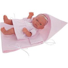 Кукла-младенец Munecas Antonio Juan Алисия, 26 см