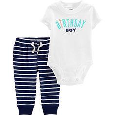 Комплект: боди и брюки carter's для мальчика Carters
