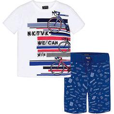 Комплект: Футболка с длинным рукавом и брюки Mayoral для мальчика