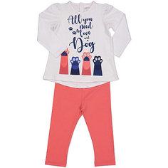 Комплект: футболка с длинным рукавом и леггинсы Birba для девочки