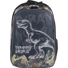 """Рюкзак школьный Seventeen """"Тиранозавр"""" с кодовым замком+наушники"""