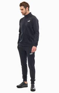 Черный спортивный костюм из хлопка Puma
