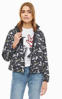 Двусторонняя куртка со скрытым капюшоном Armani Exchange