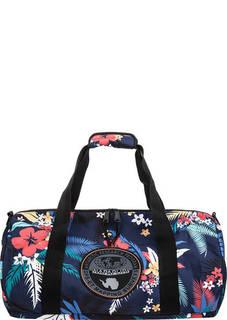 Текстильная сумка с цветочным принтом Napapijri